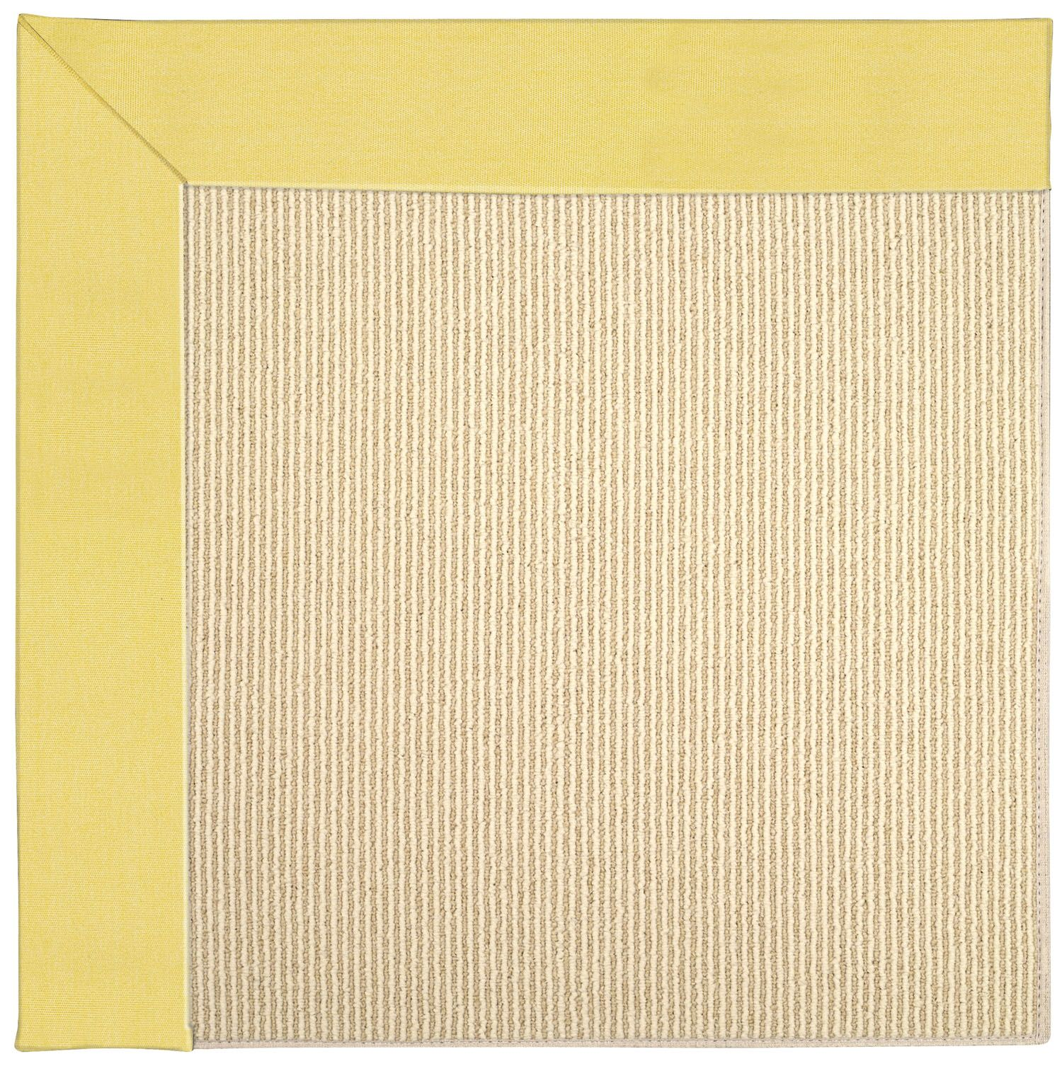 Lisle Machine Tufted Yellow/Beige Indoor/Outdoor Area Rug Rug Size: Rectangle 4' x 6'