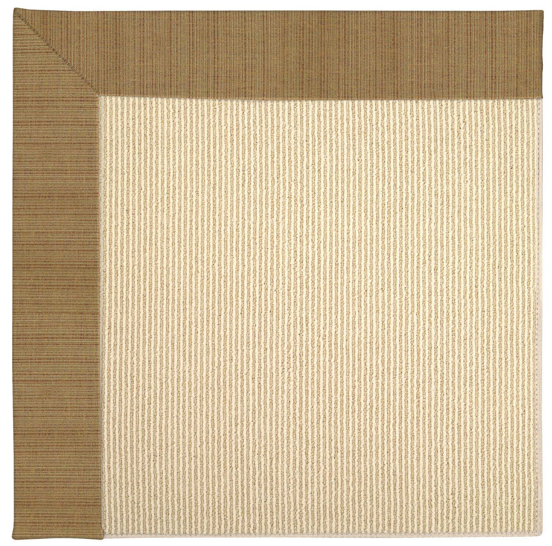 Lisle Machine Tufted Golden/Beige Indoor/Outdoor Area Rug Rug Size: Rectangle 12' x 15'