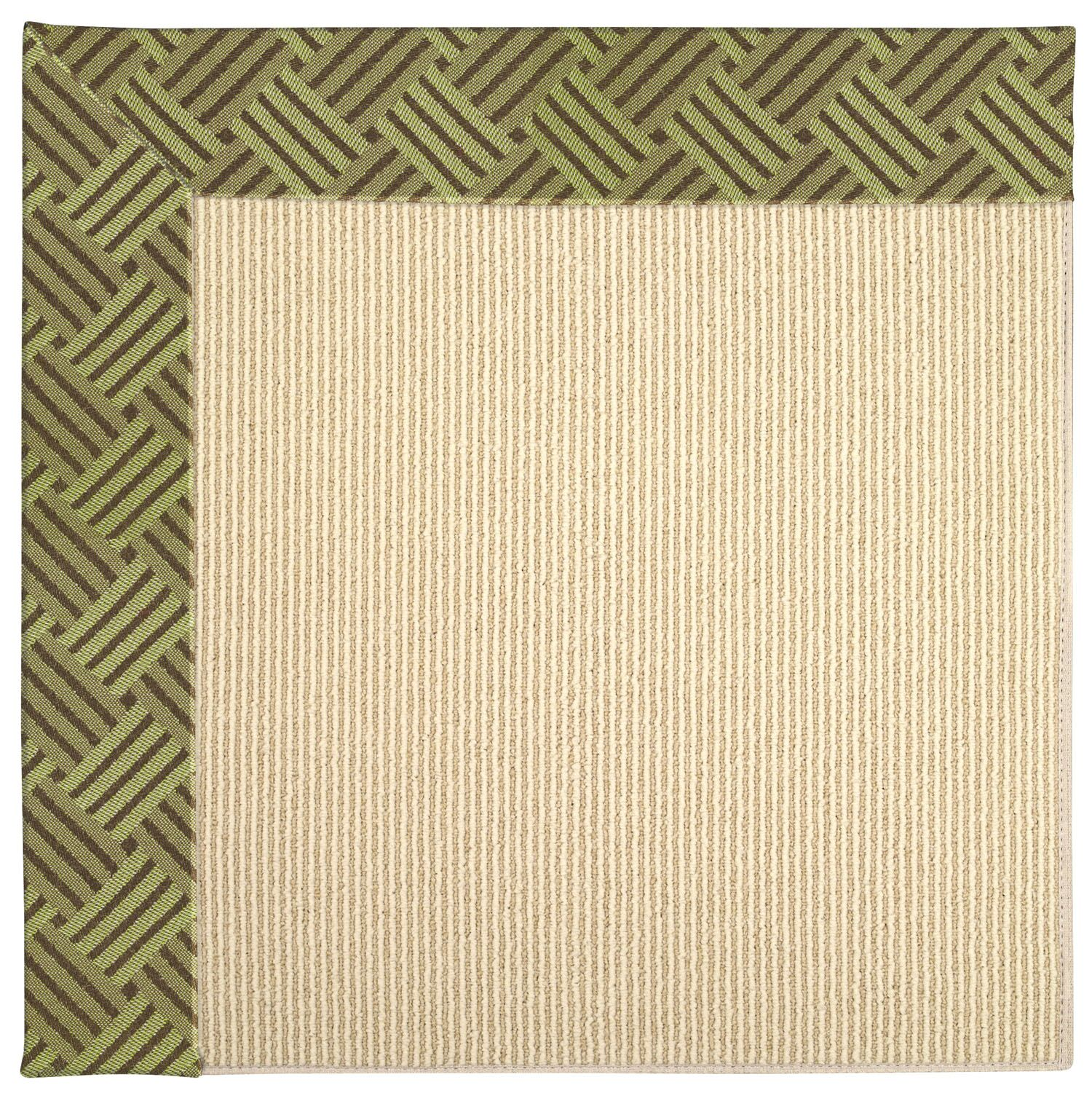 Lisle Machine Tufted Mossy Green/Brown Indoor/Outdoor Area Rug Rug Size: Rectangle 5' x 8'