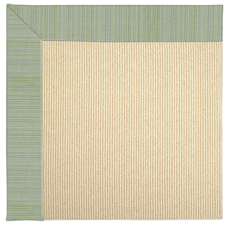 Lisle Machine Tufted Green Spa Indoor/Outdoor Area Rug Rug Size: Square 8'
