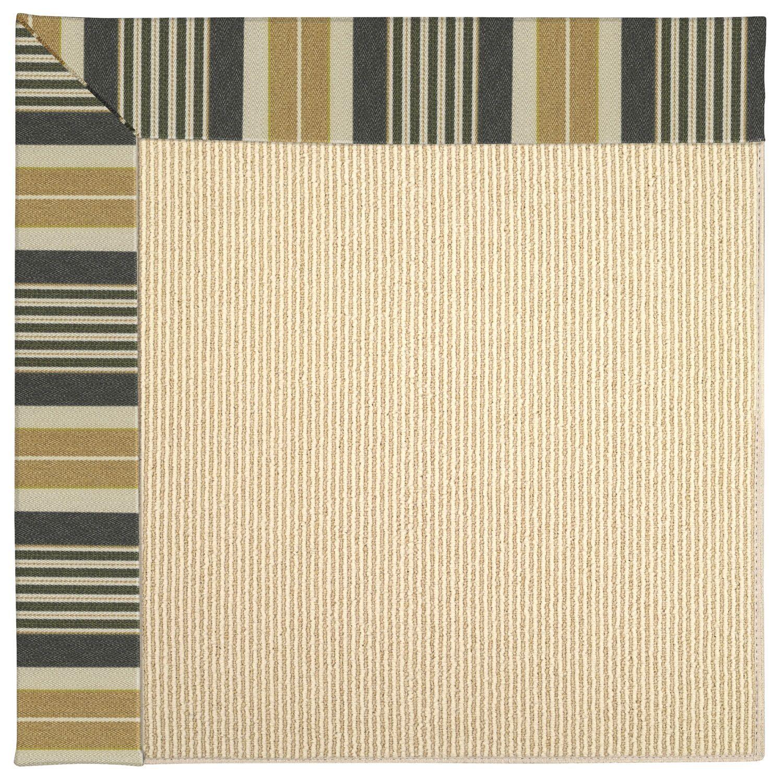 Lisle Machine Tufted Black Indoor/Outdoor Area Rug Rug Size: Rectangle 12' x 15'