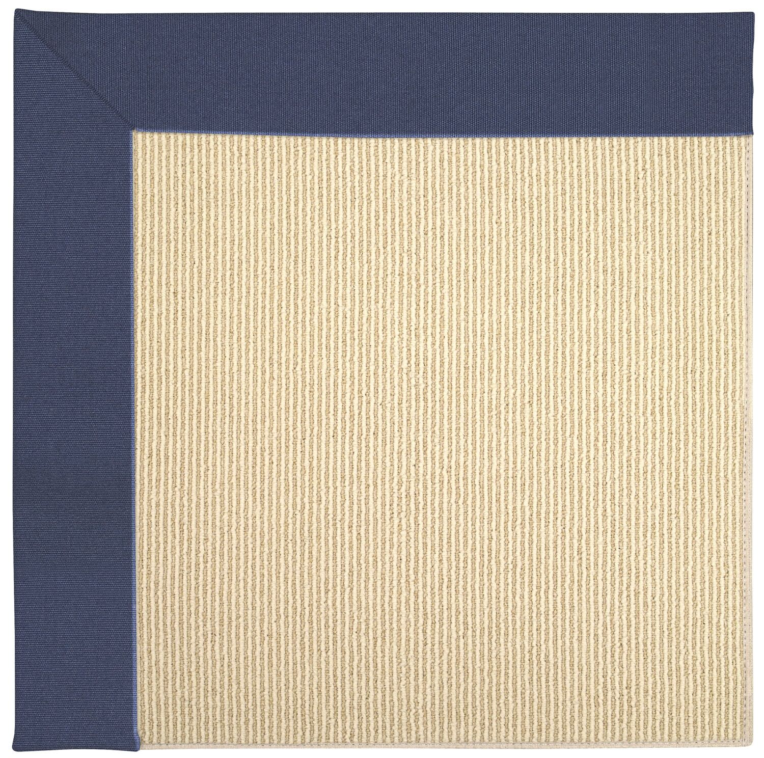 Lisle Machine Tufted Blue/Beige Indoor/Outdoor Area Rug Rug Size: Square 6'