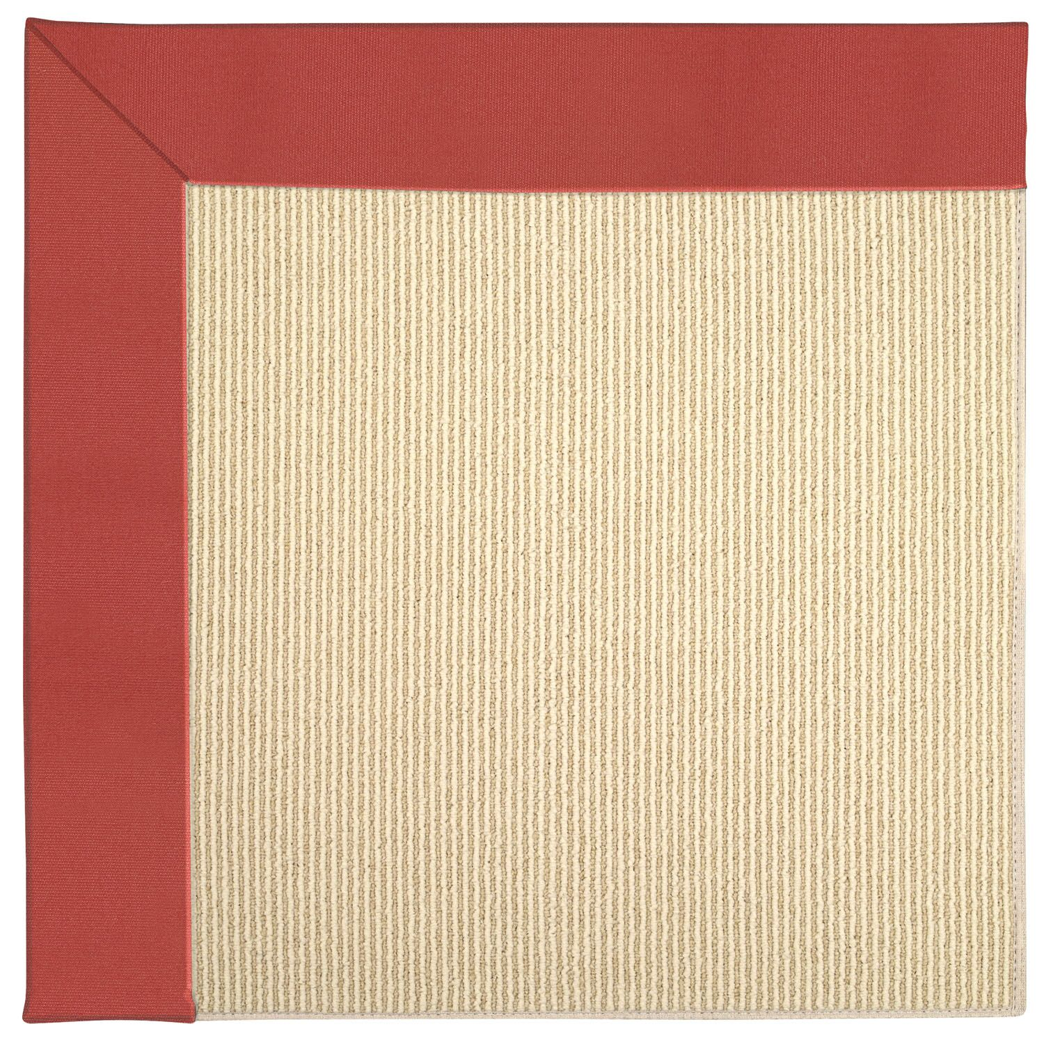 Lisle Machine Tufted Sunset Red/Beige Indoor/Outdoor Area Rug Rug Size: Square 10'