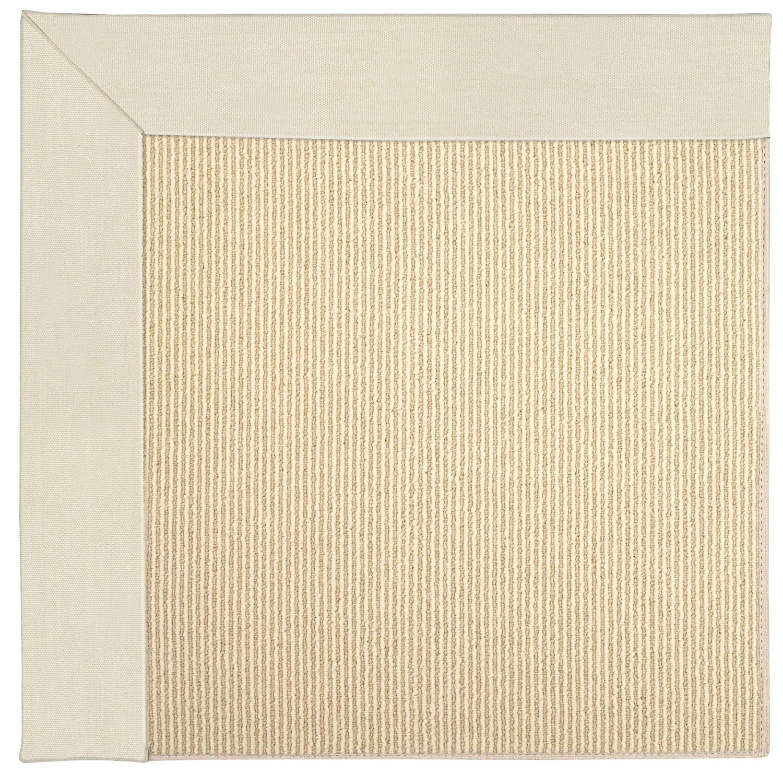 Lisle Machine Tufted Sandy/Beige Indoor/Outdoor Area Rug Rug Size: Rectangle 4' x 6'
