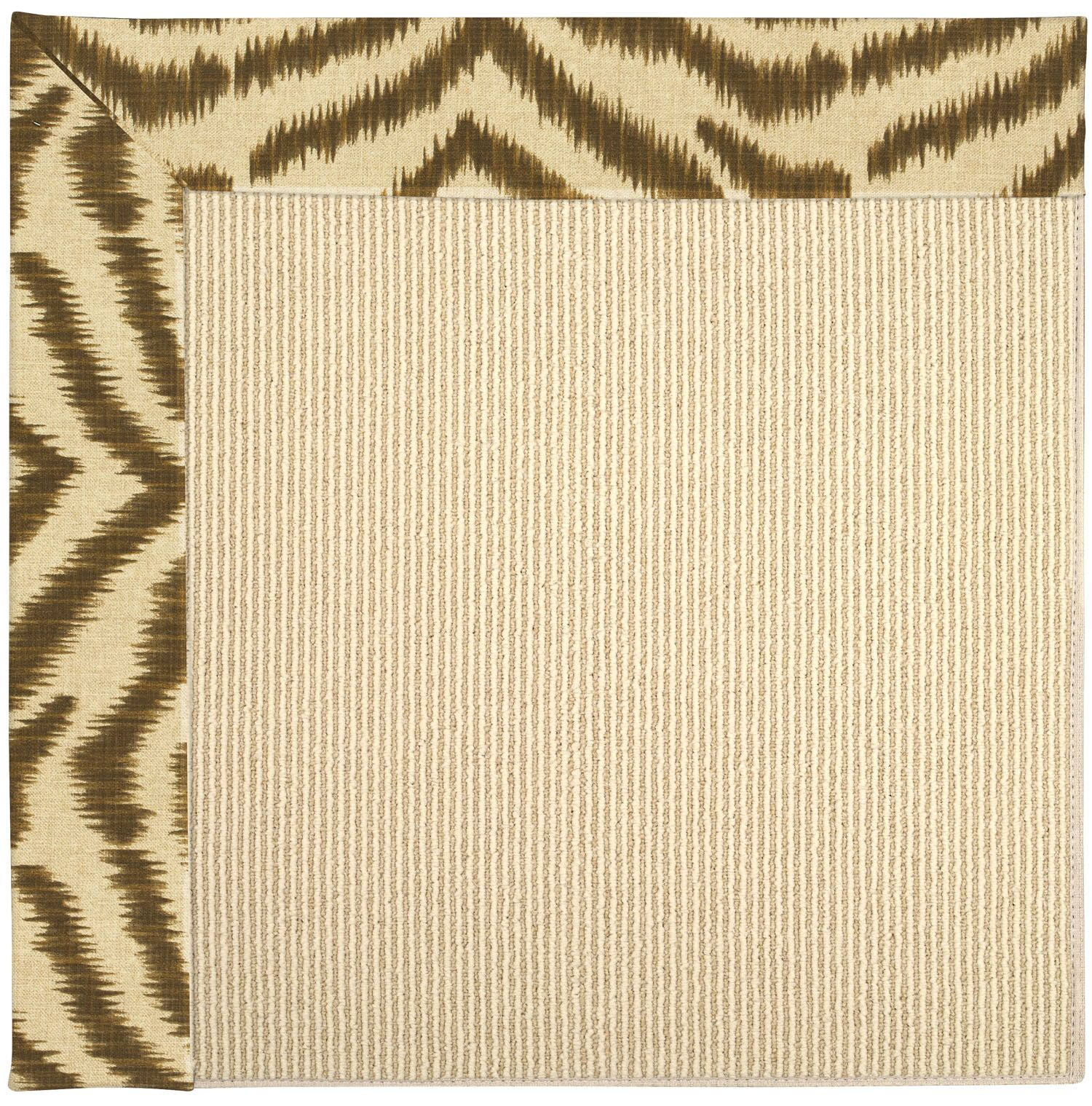 Lisle Machine Tufted Tawny/Brown Indoor/Outdoor Area Rug Rug Size: Square 10'