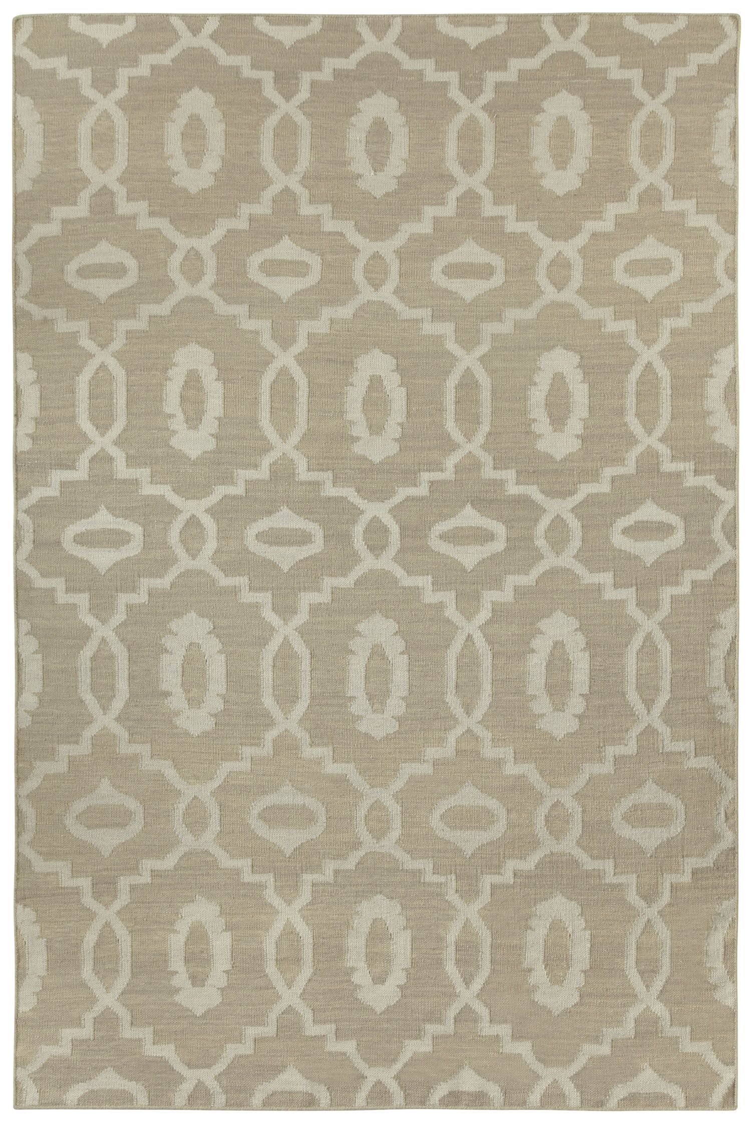 Anchor Beige Area Rug Rug Size: Rectangle 3' x 5'