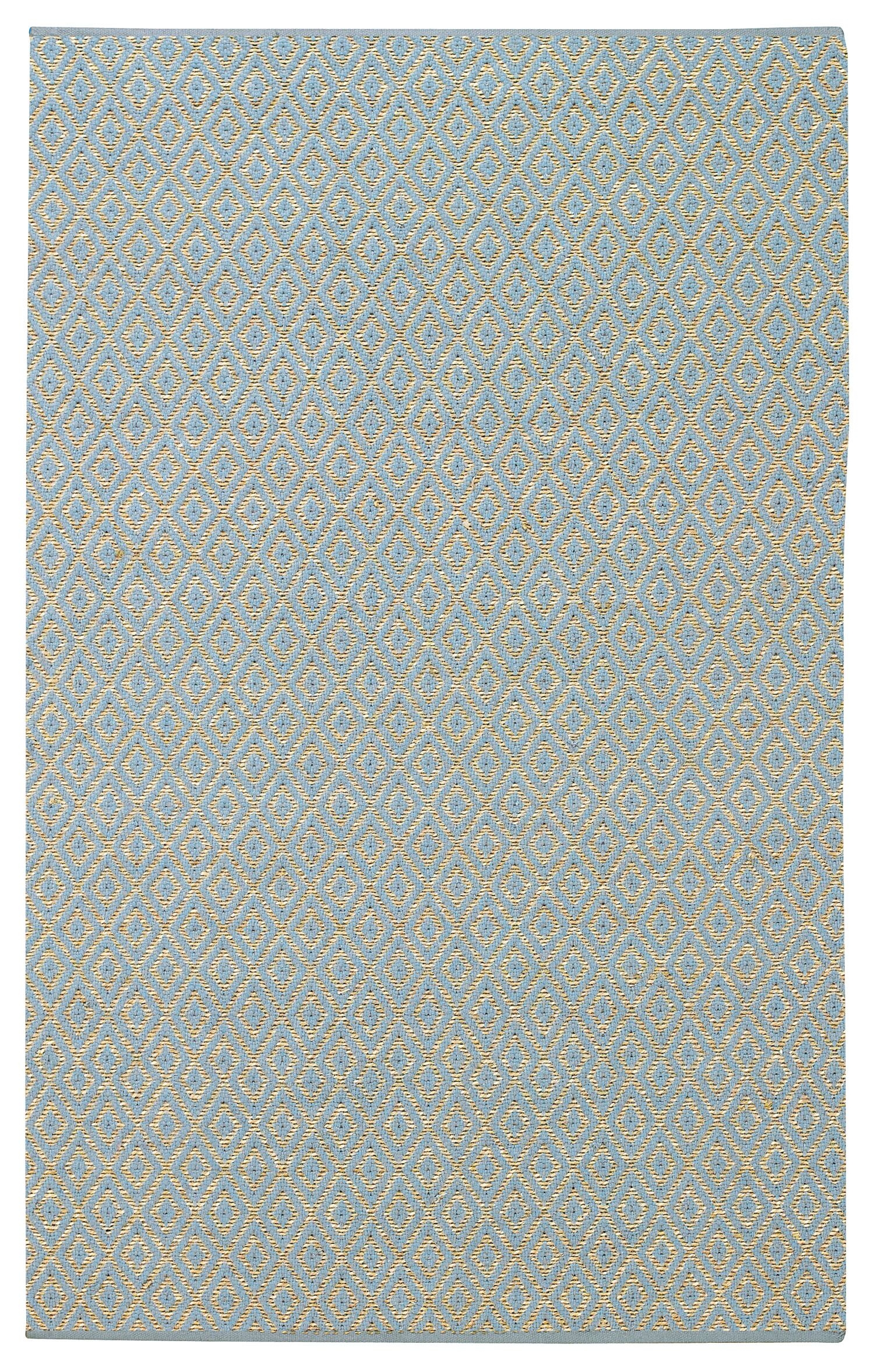 Blocher Blue Area Rug Rug Size: 3' x 5'