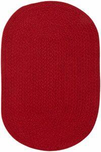 Matthias Dark Red Area Rug Rug Size: Runner 2' x 8'