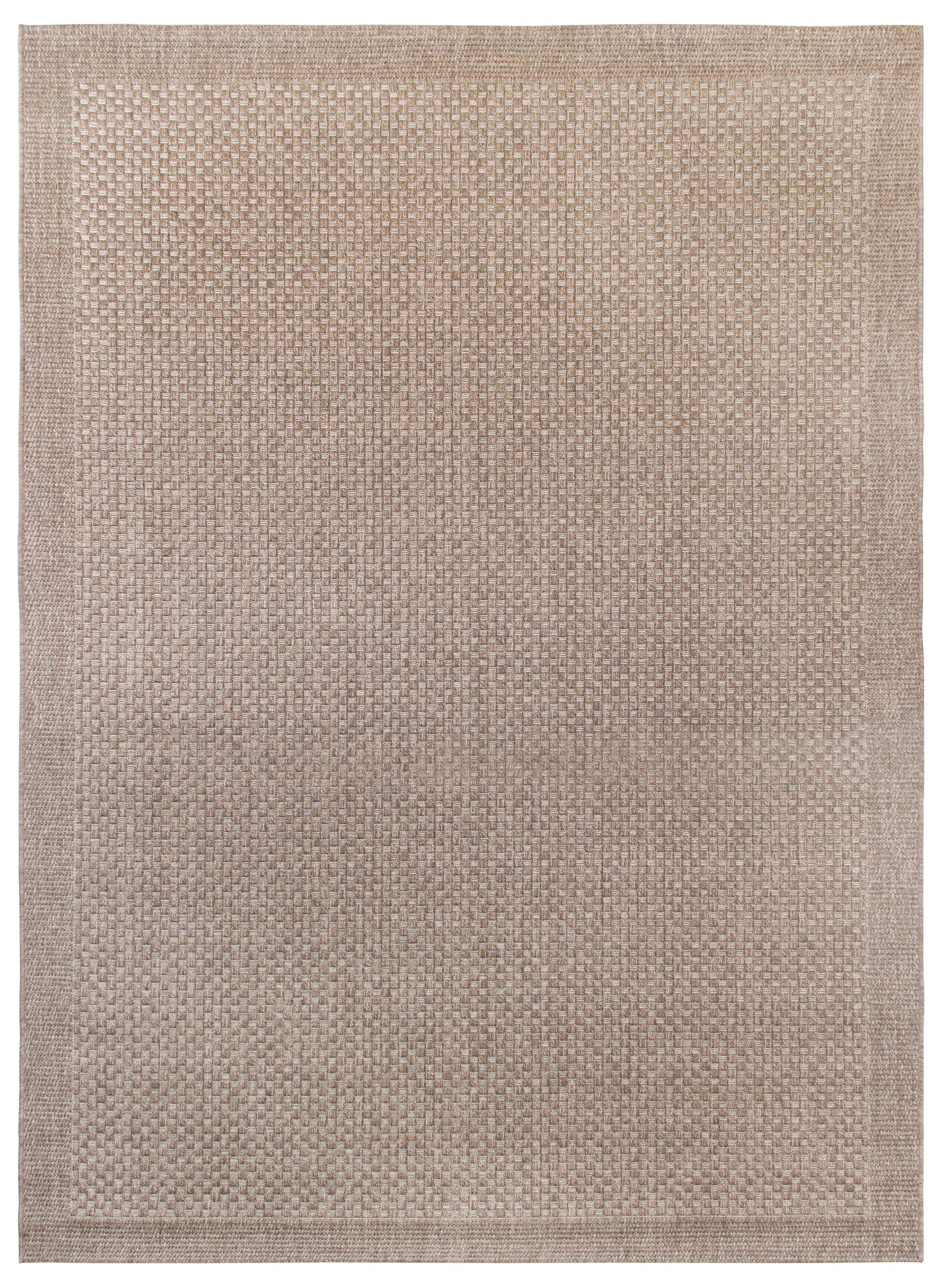 Hoerner Beige Indoor/Outdoor Area Rug Rug Size: 7'10