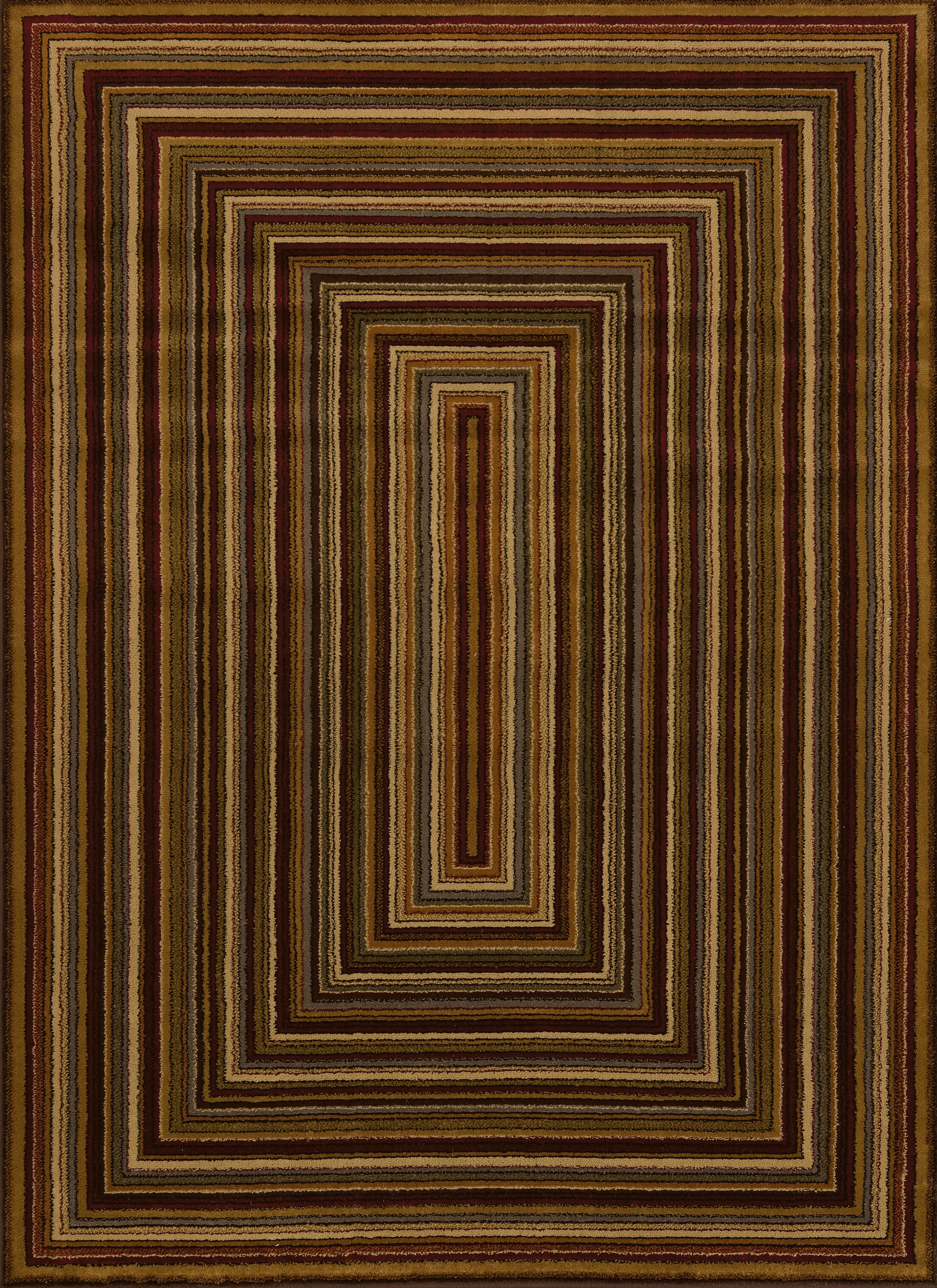Affinity Chapelle Area Rug Rug Size: 7'10