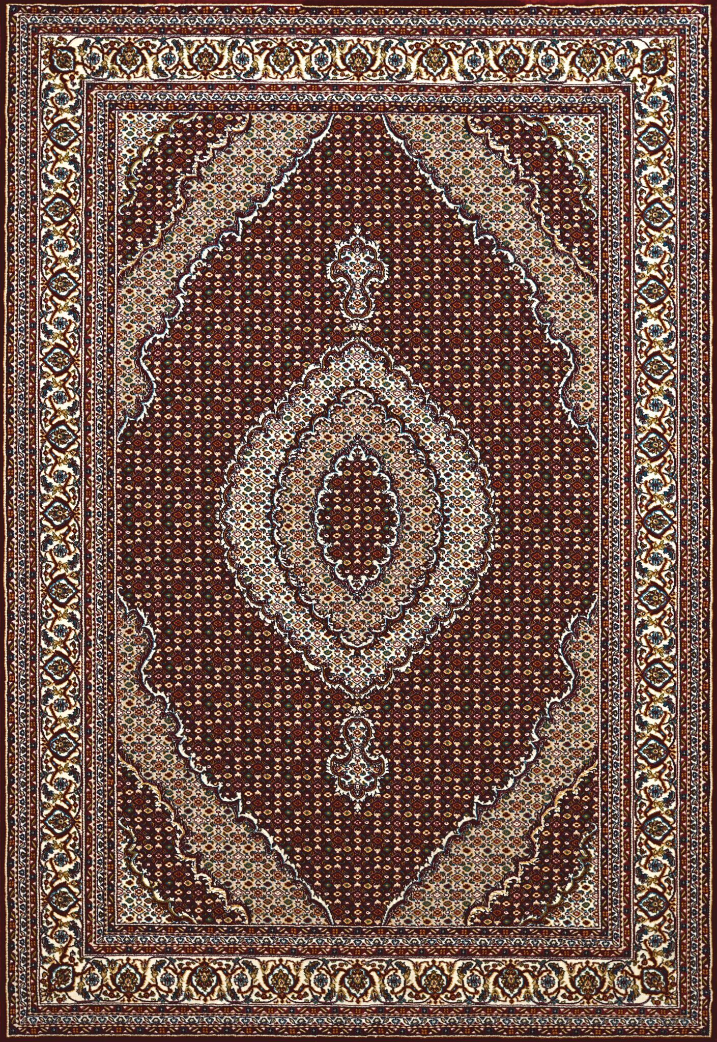 Antiquities Brown Area Rug Rug Size: 5'3