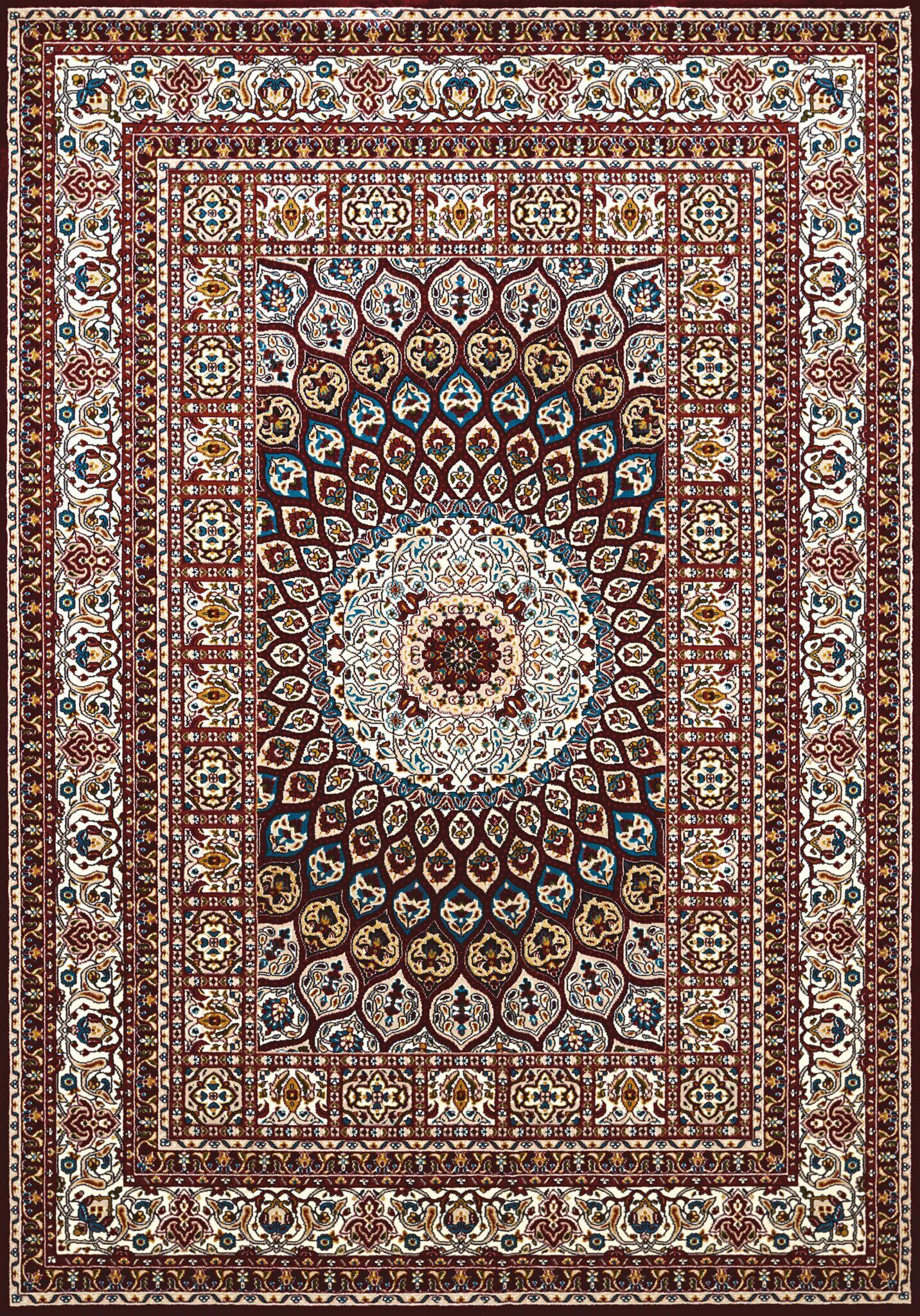 Antiquities Jaipur Brown/Beige Area Rug Rug Size: 5'3