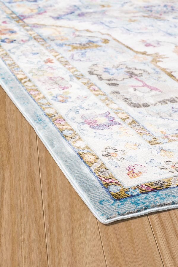 Ravenstein Cerulean Area Rug Rug Size: Rectangle 7'10