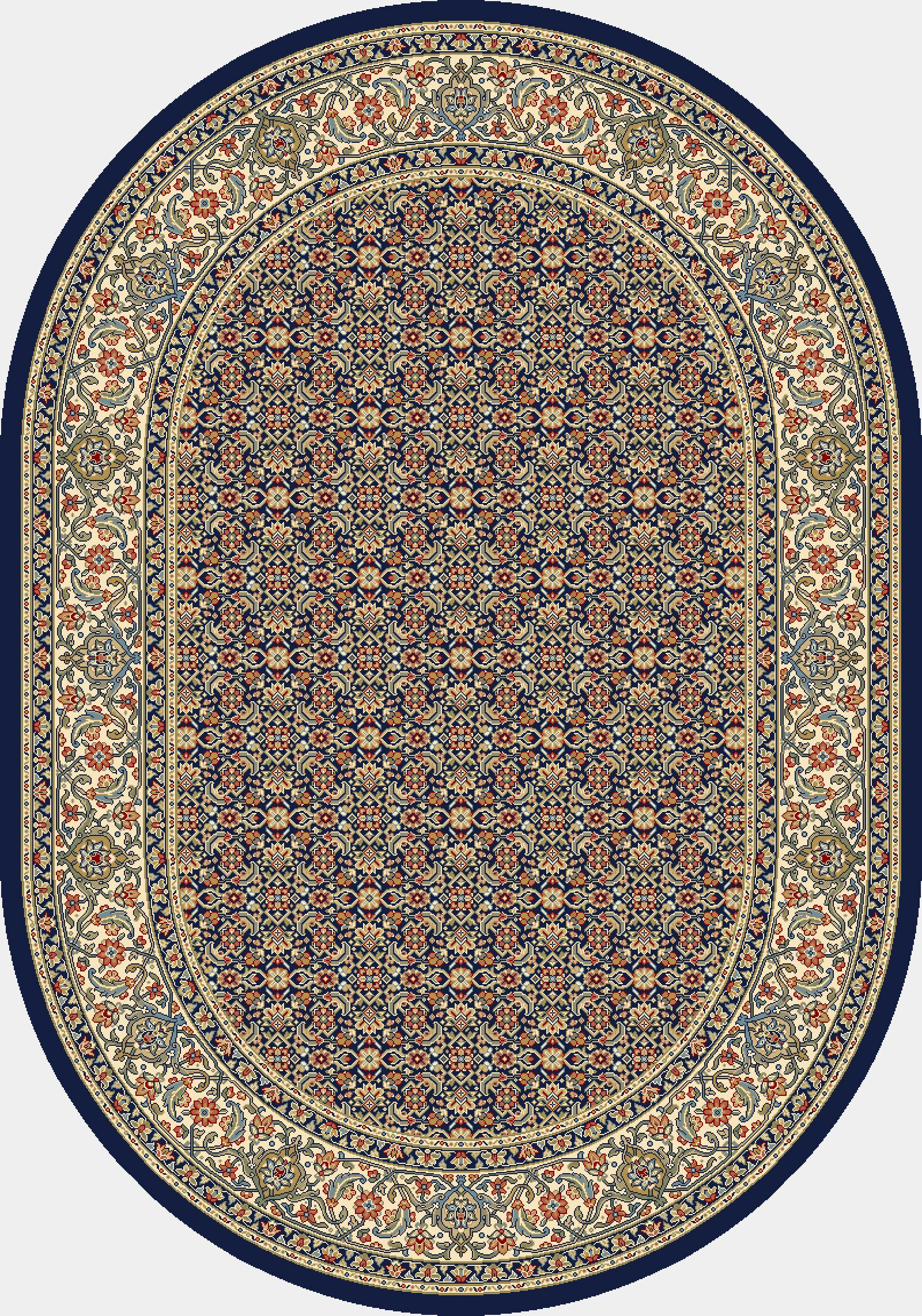 Attell Black/Ivory Area Rug Rug Size: Oval 5'3