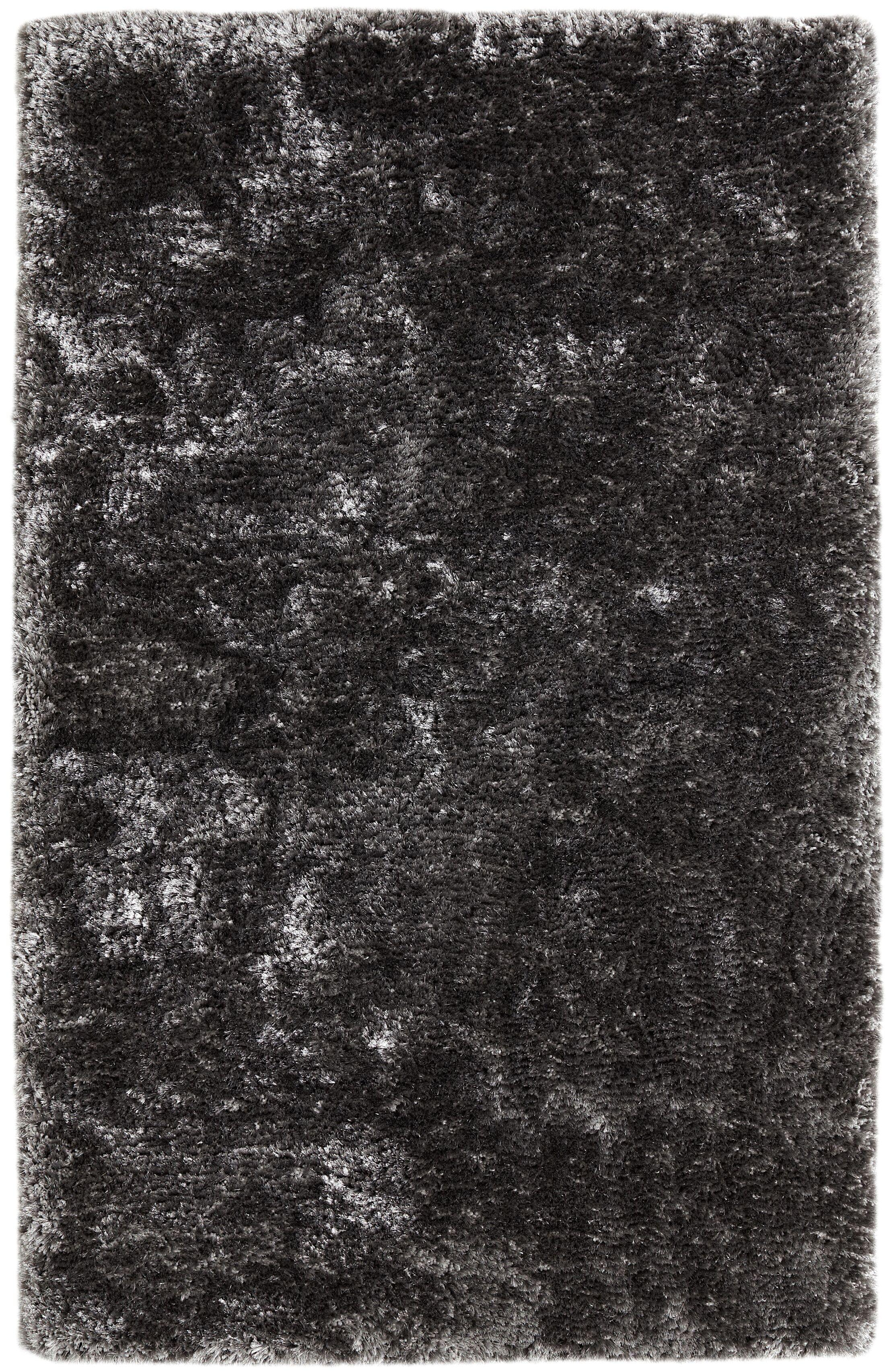 Saint Black Area Rug Rug Size: Rectangle 8' x 10'