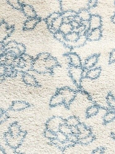 Passion Cream Floral Rug Rug Size: Rectangle 6'7