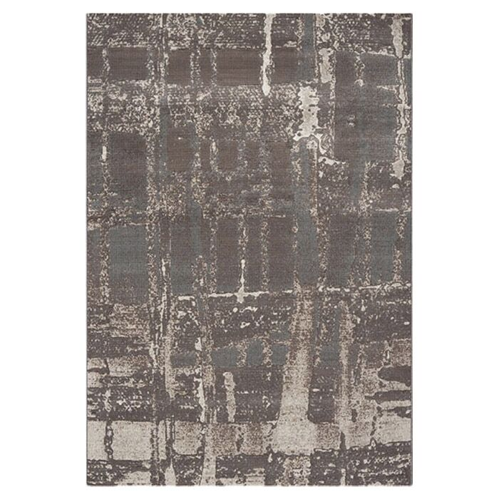 Blank Silver Area Rug Rug Size: Rectangle 7'10