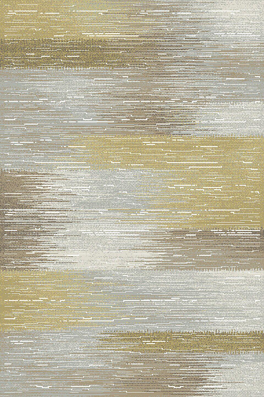 Albury Gray & Yellow Area Rug Rug Size: Rectangle 5'3