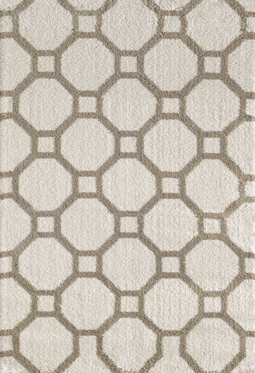 Lowes White/Beige Area Rug Rug Size: Rectangle 3'11