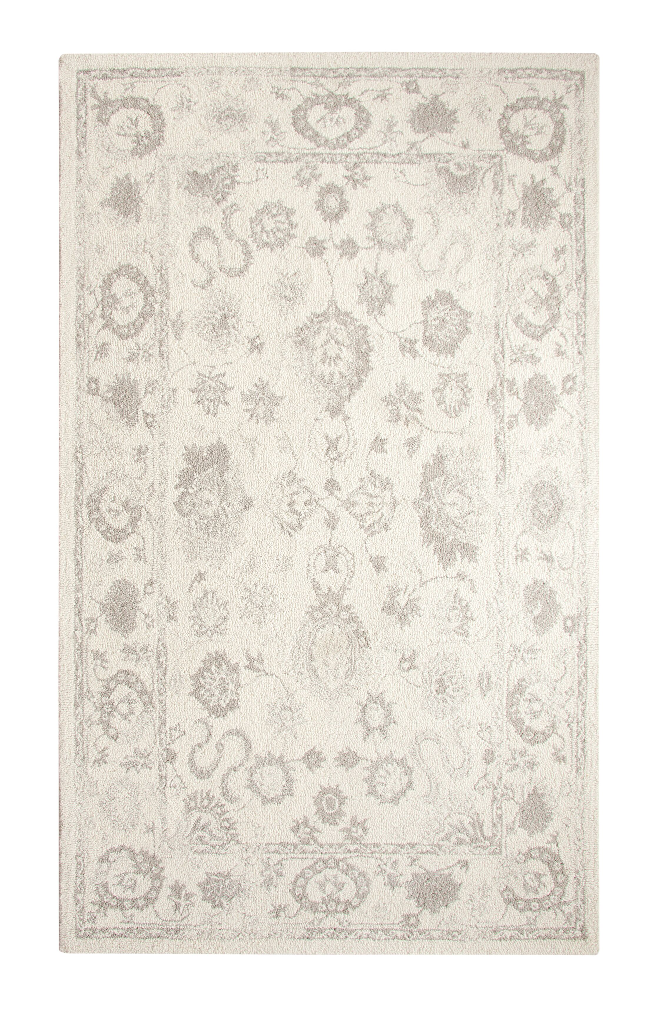 Montoya Ivory Hand Woven Area Rug Rug Size: Rectangle 8' x 11'