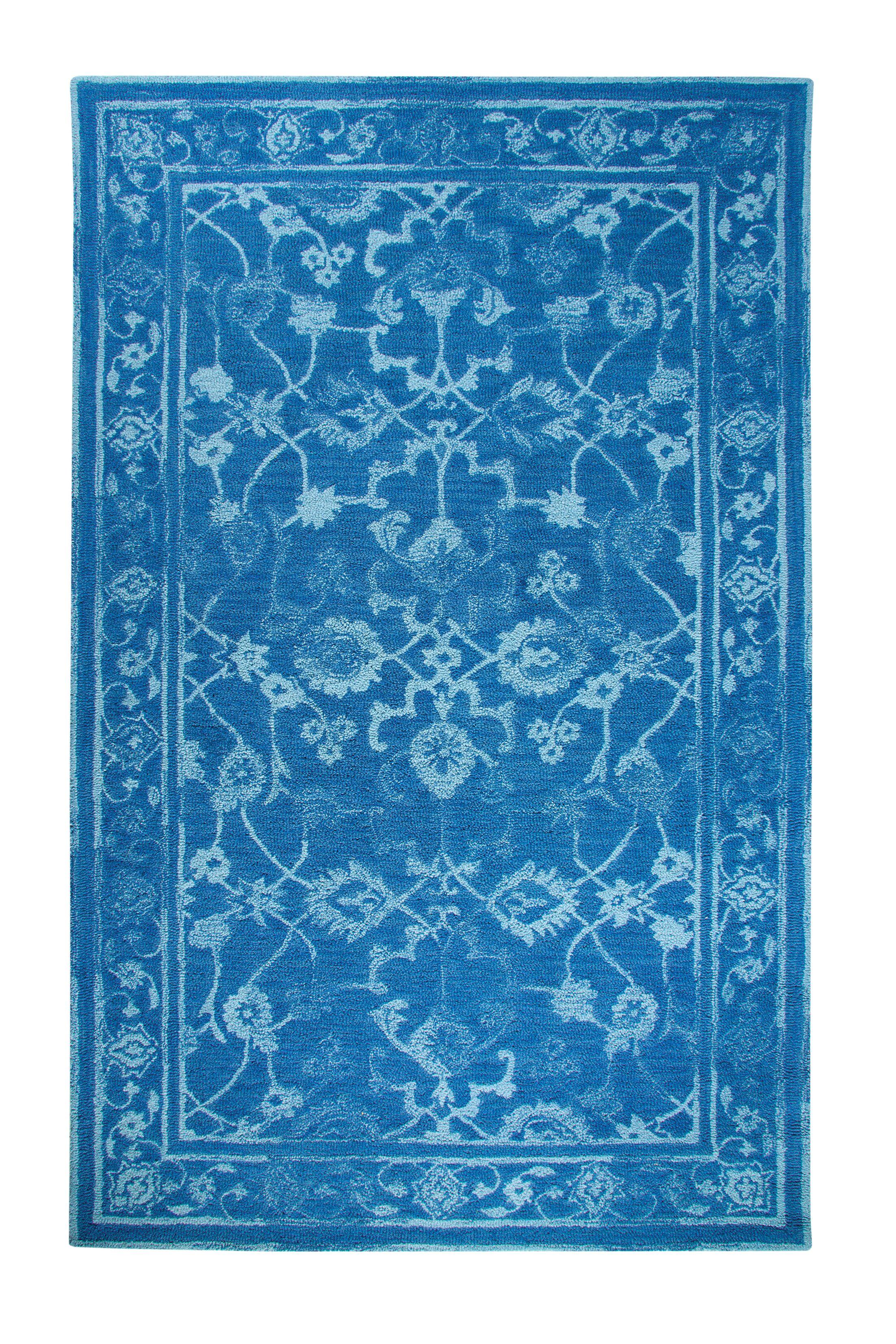 Montoya Dark Blue Area Rug Rug Size: Rectangle 5' x 8'