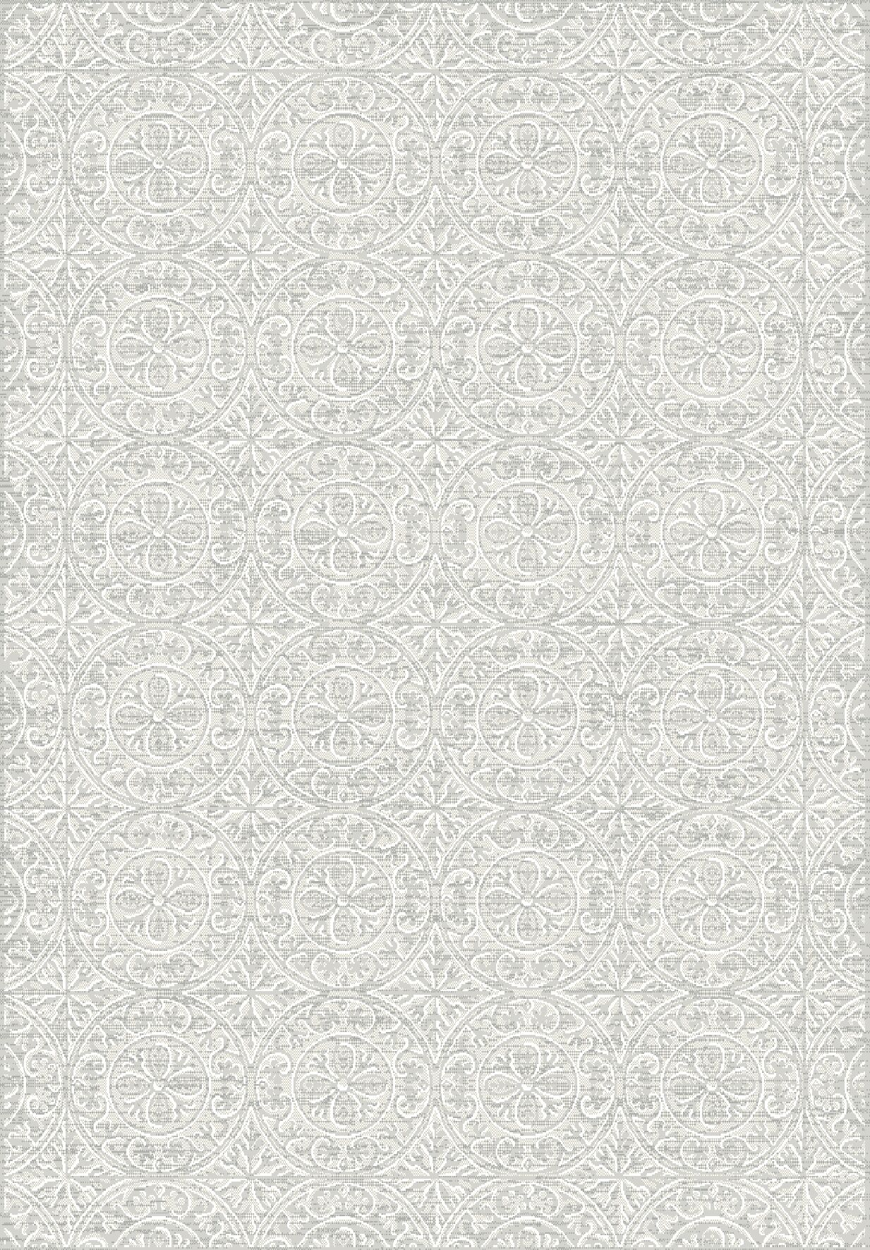 Florentia Gray Area Rug Rug Size: Rectangle 5'3