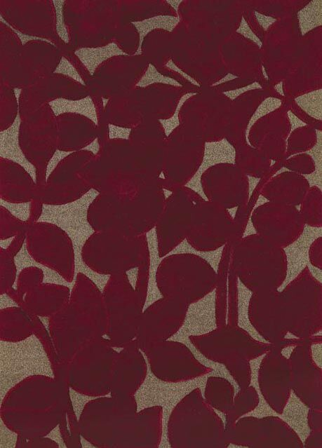 Allure Allurerary Rich Red Area Rug Rug Size: Rectangle 5' x 8'