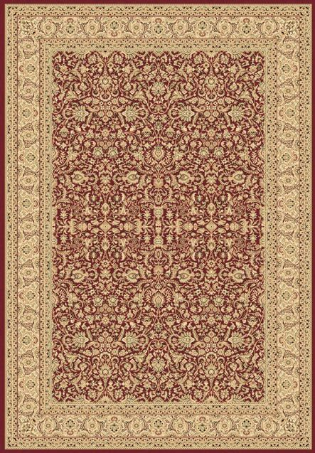 Atterbury Red/Beige Area Rug Rug Size: Runner 2'2