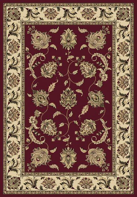 Conway Red/Beige Area Rug Rug Size: Rectangle 7'10