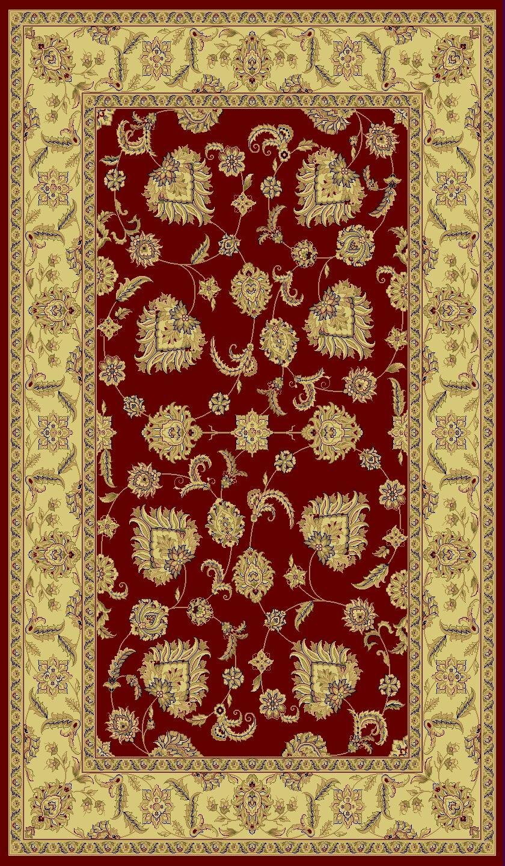 Atterbury Mahal Red Rug Rug Size: Rectangle 9'2