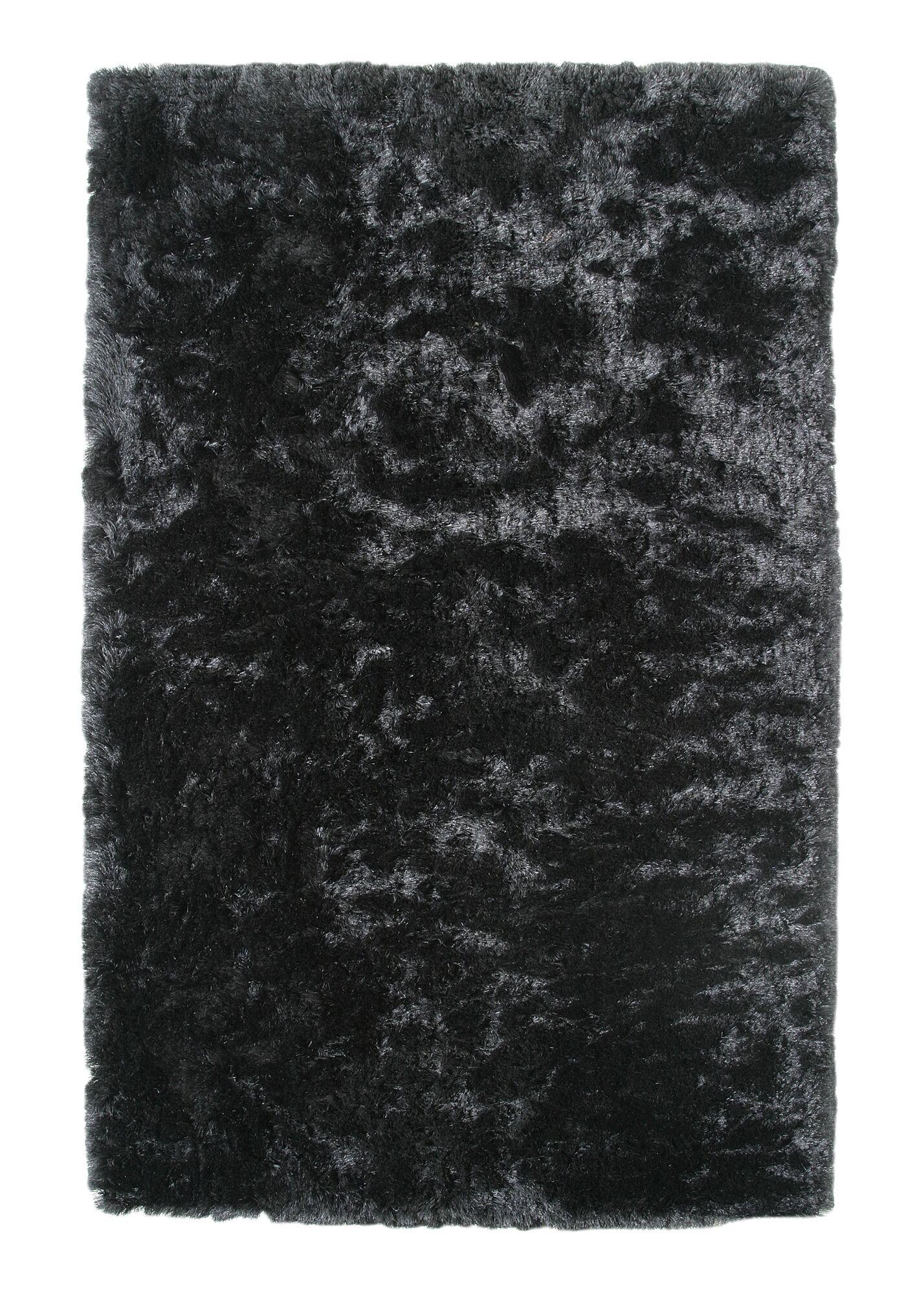 Kailyn Ash Black Area Rug Rug Size: Rectangle 3' x 5'