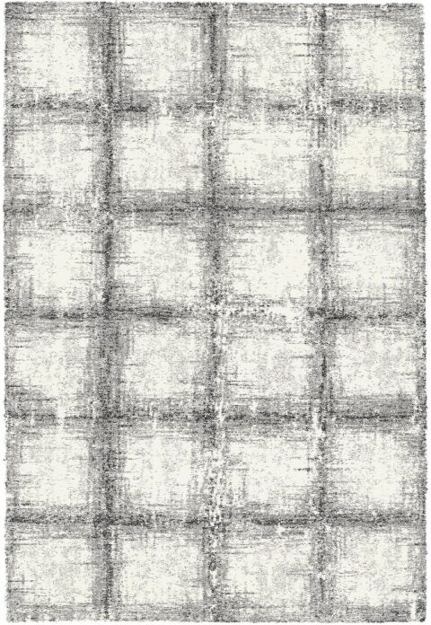 Lucina Black / White Area Rug Rug Size: Rectangle 3'11