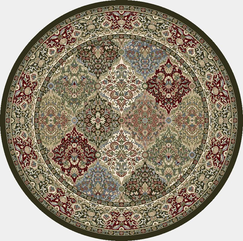 Attell Area Rug Rug Size: Round 7'10