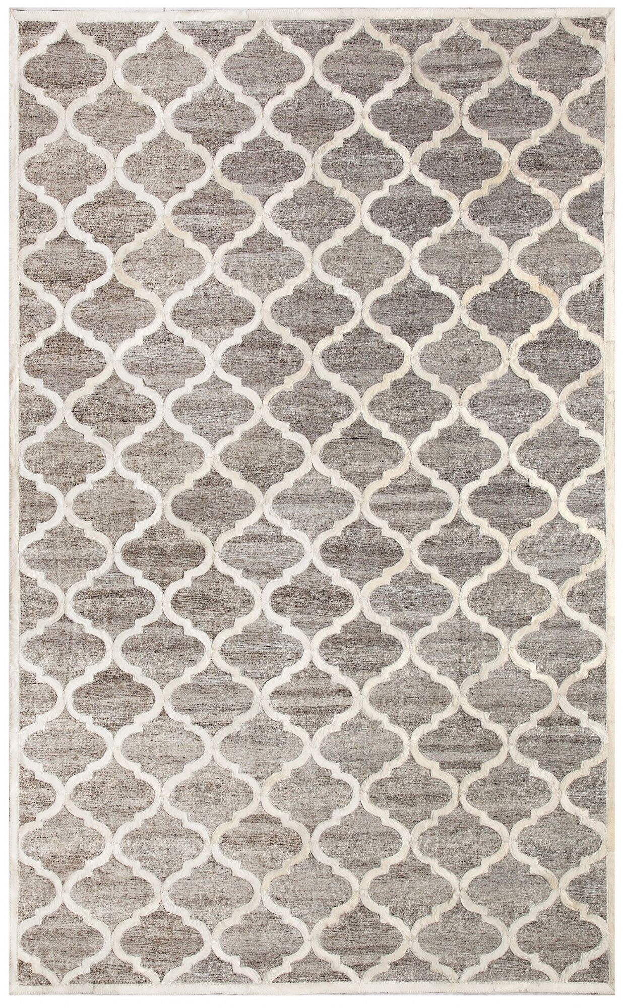 Ritz Hand-Woven Beige/Gray Area Rug Rug Size: Rectangle 8' x 11'