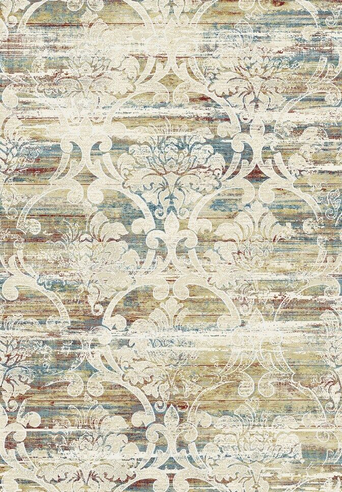 Rosario Beige Area Rug Rug Size: Rectangle 5'3