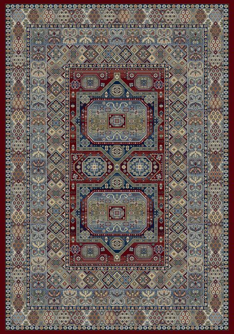 Attell Red Area Rug Rug Size: Runner 2'2