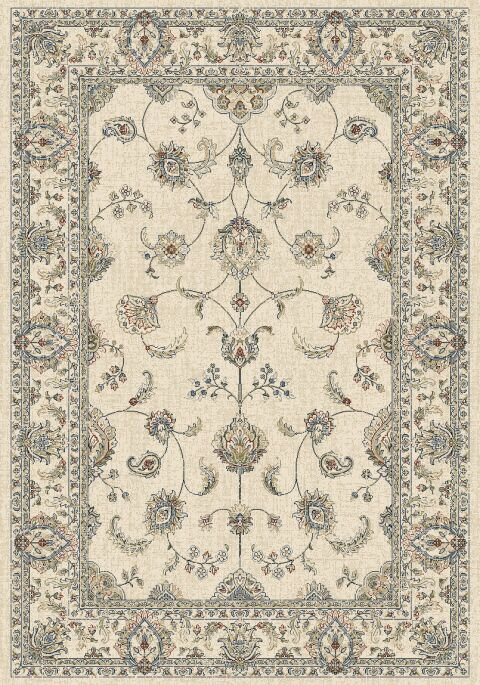 Attell Ivory Area Rug Rug Size: Rectangle 7'10