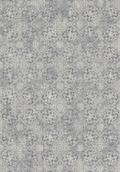 Attell Light Blue Area Rug Rug Size: Round 7'10