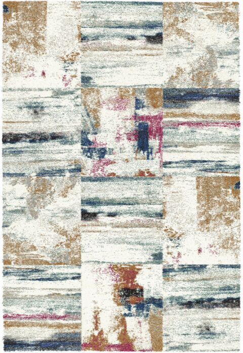 Foerster Ivory/Gray Area Rug Rug Size: Rectangle 3'11