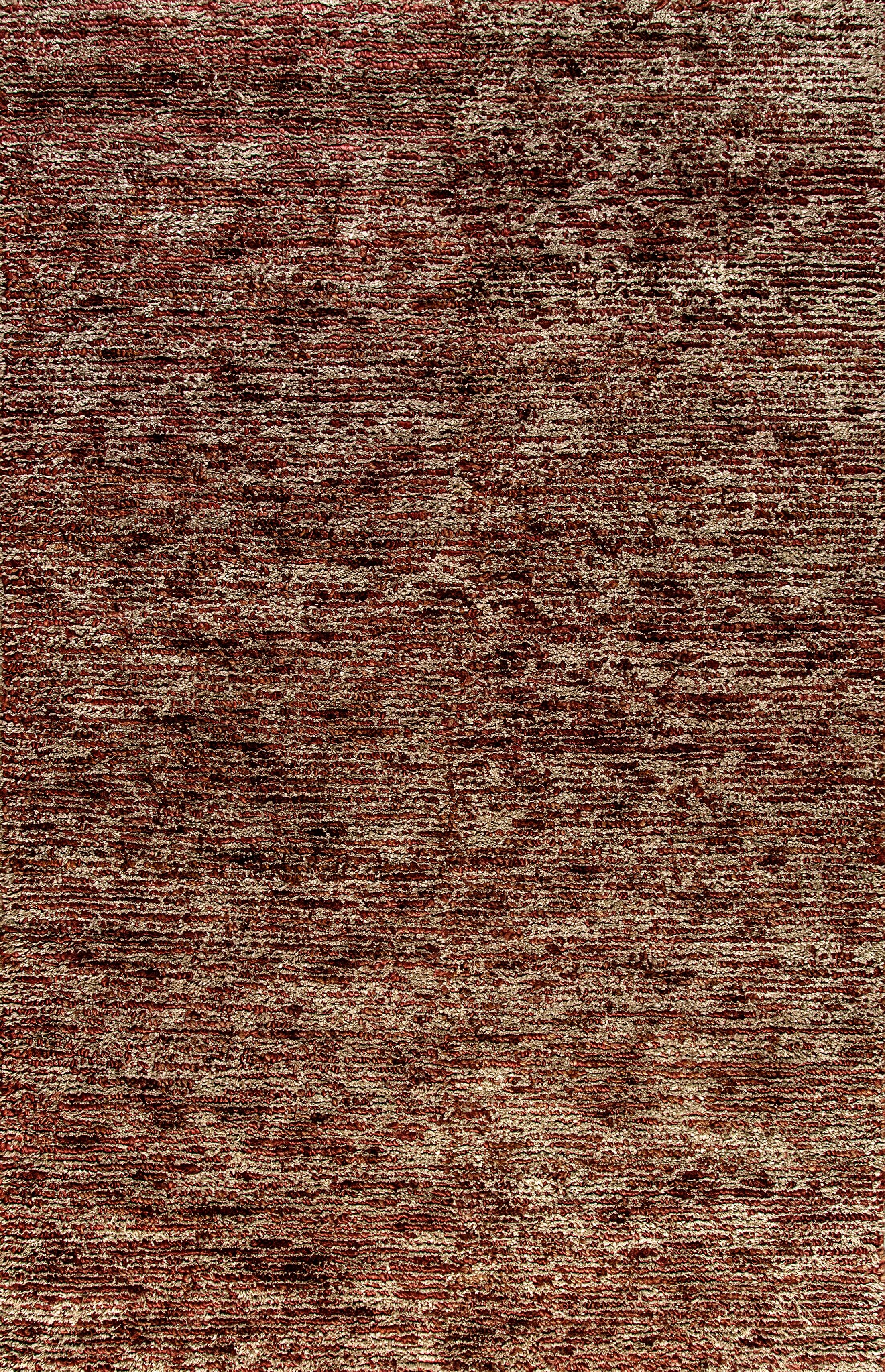 Gem Hand-Woven Red Area Rug Rug Size: Rectangle 5' x 8'