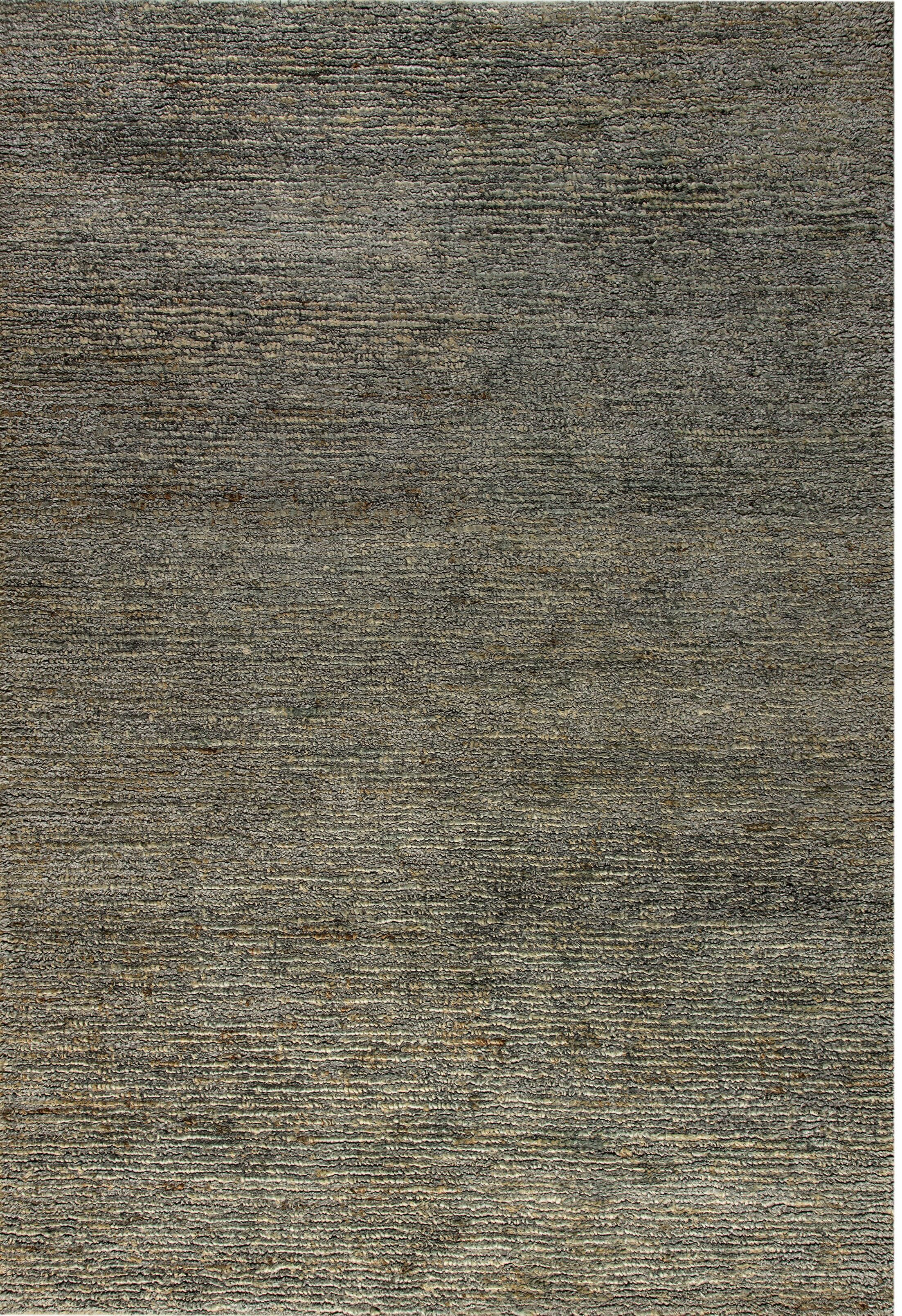 Gem Hand-Woven Light Gray Area Rug Rug Size: Rectangle 4' x 6'