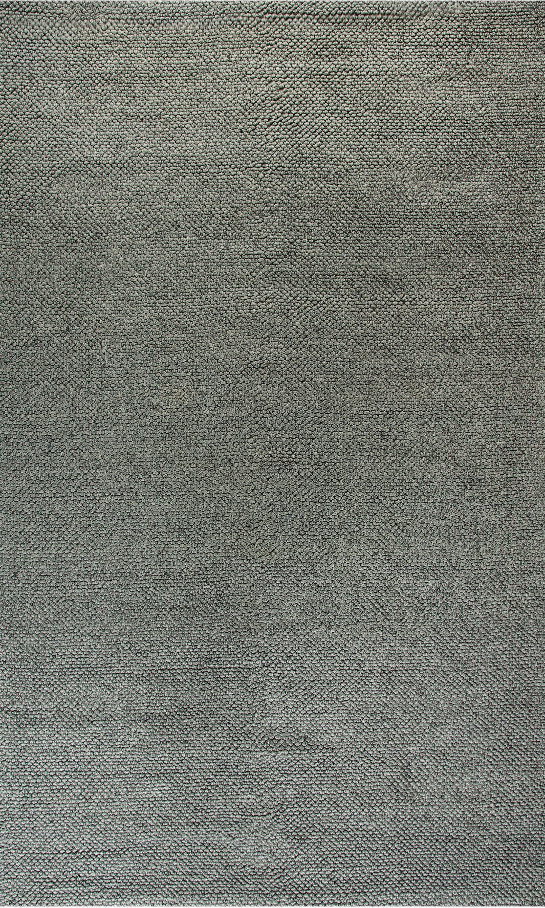 Elbridge Hand-Woven Ivory/Gray Area Rug Rug Size: Rectangle 8' x 11'