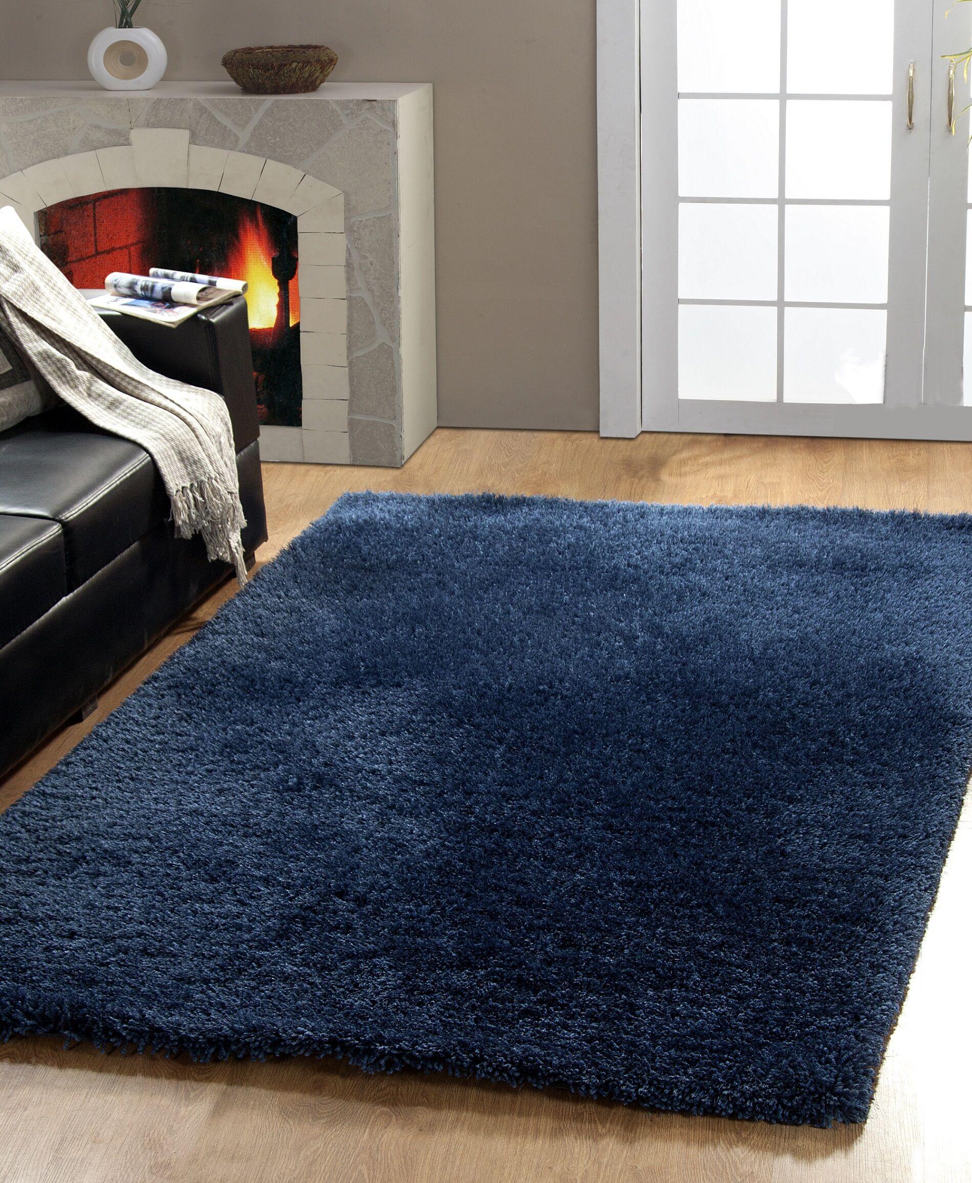 Precious Denim Area Rug Rug Size: Rectangle 5' x 8'