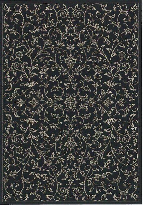 Pasillas Black/Taupe Area Rug Rug Size: Rectangle 7'10