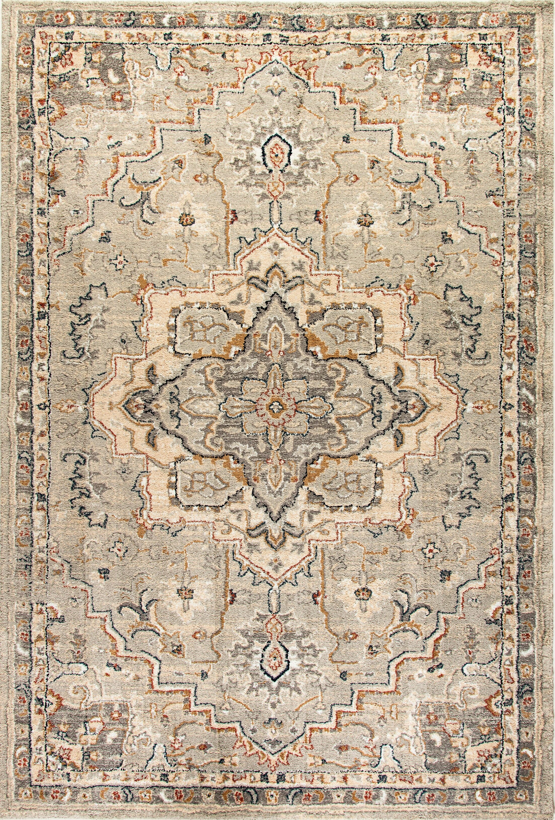 Cortes Beige Area Rug Rug Size: Rectangle 9'2