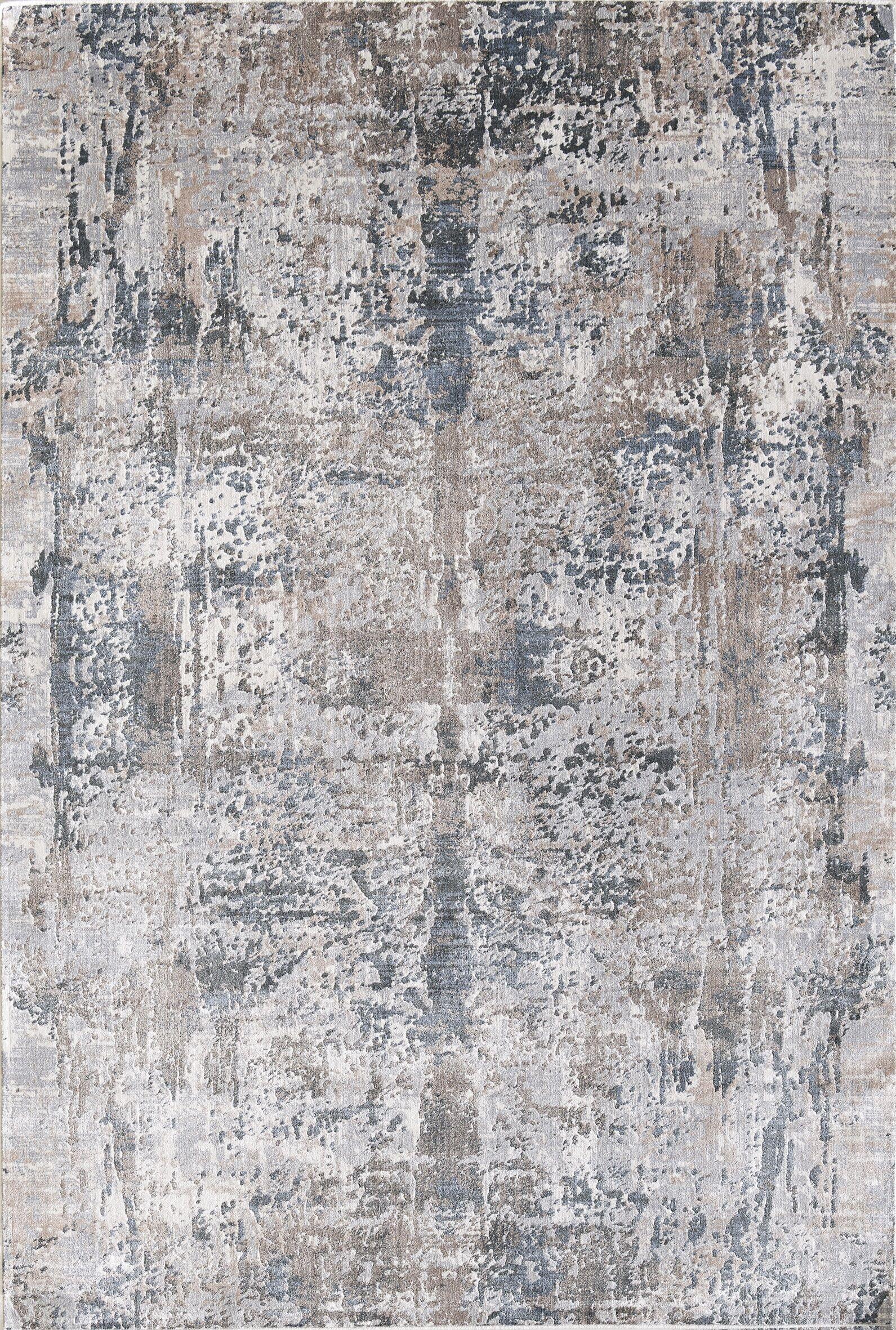 Cotton Light Brown/Beige Area Rug Rug Size: Rectangle 7'10