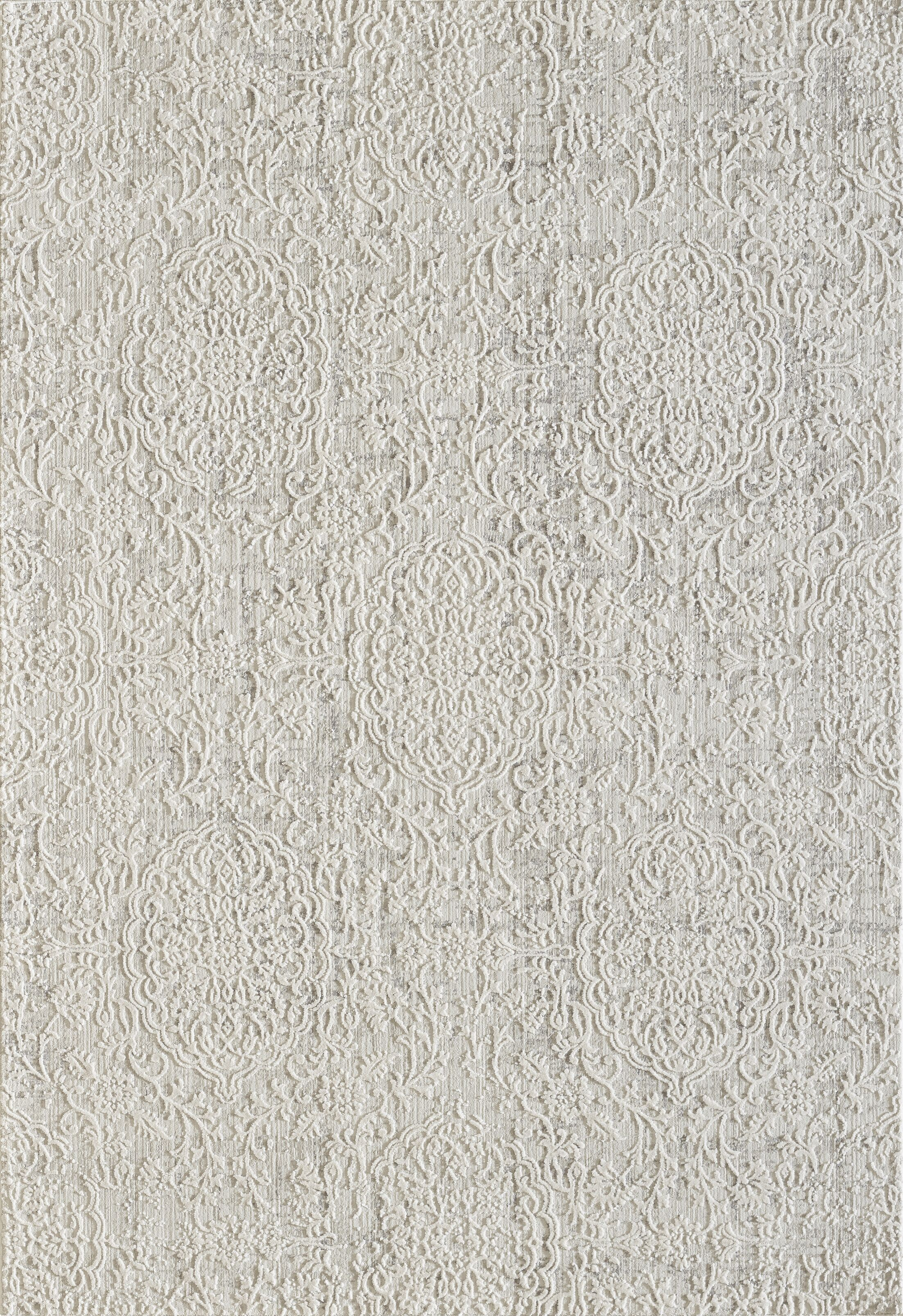 Caddie Ivory/Beige Area Rug Rug Size: Rectangle 9'2