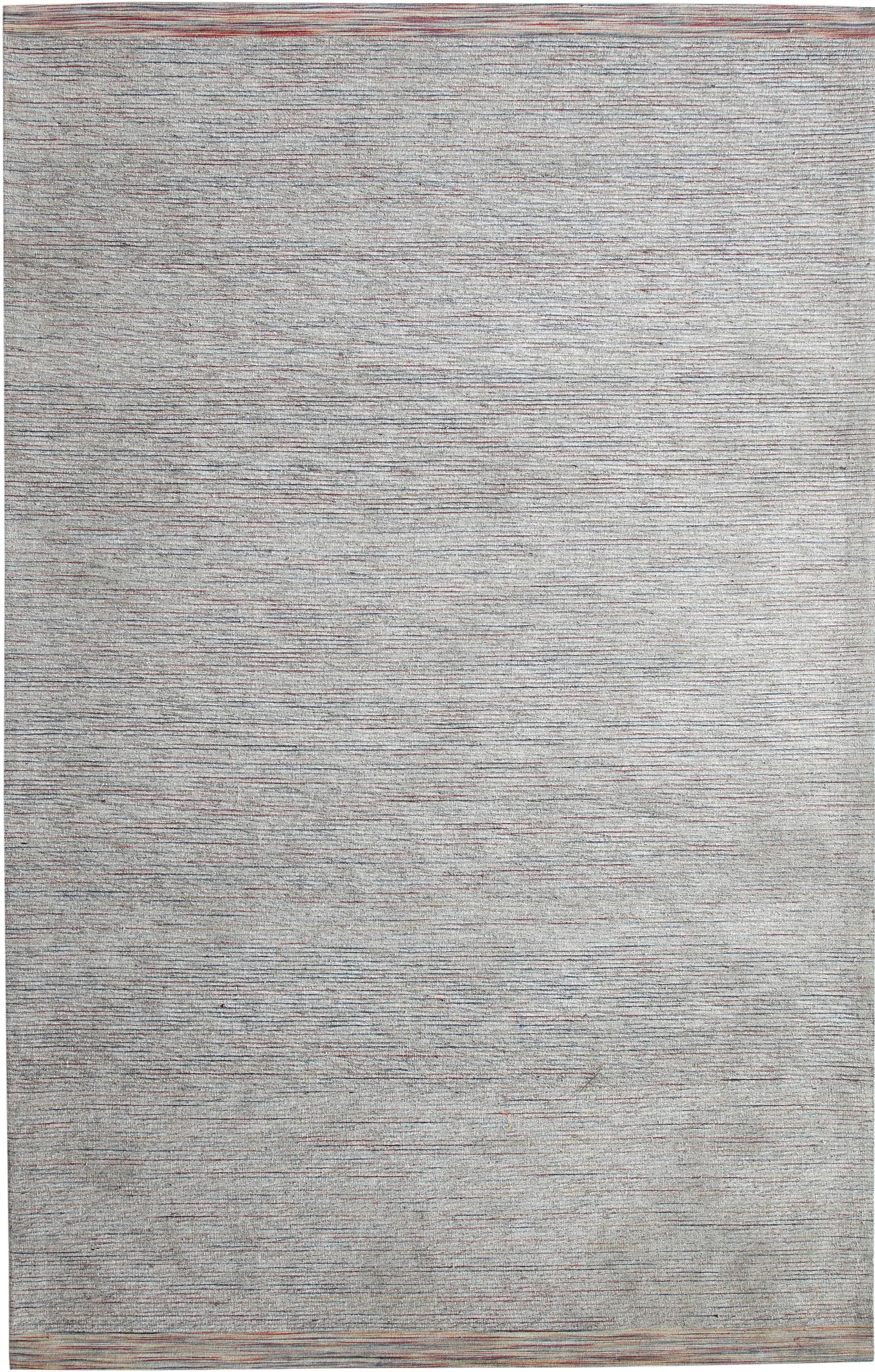 Hawtree Hand-Woven Grey Area Rug Rug Size: Rectangle 4' x 6'