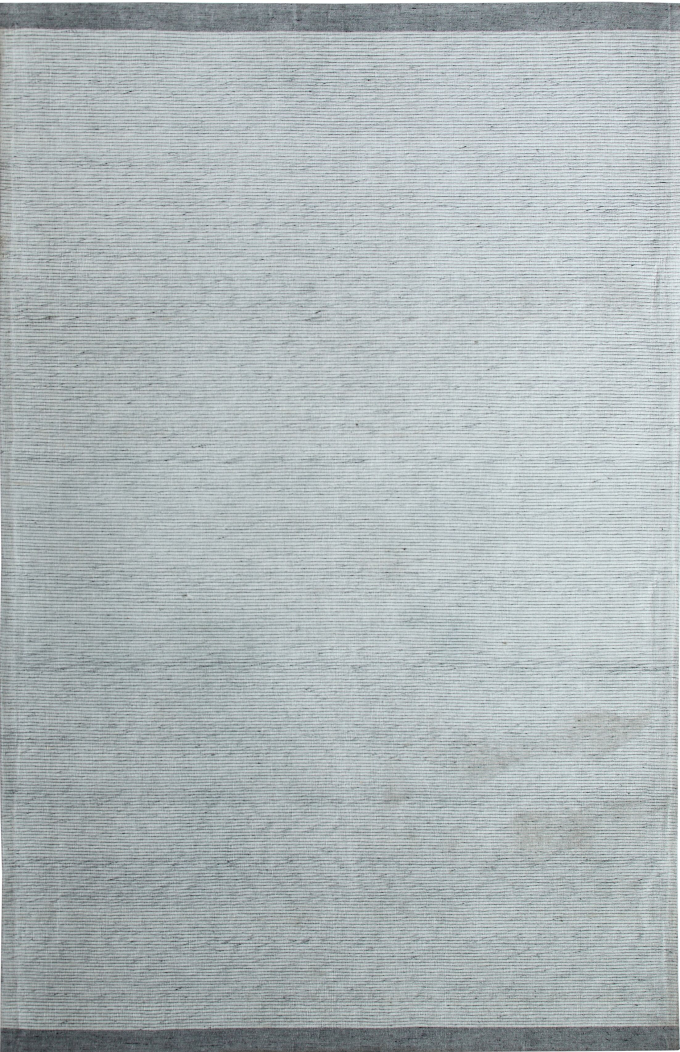 Hawtree Hand- Woven Silver/Grey Area Rug Rug Size: Rectangle 5' x 8'