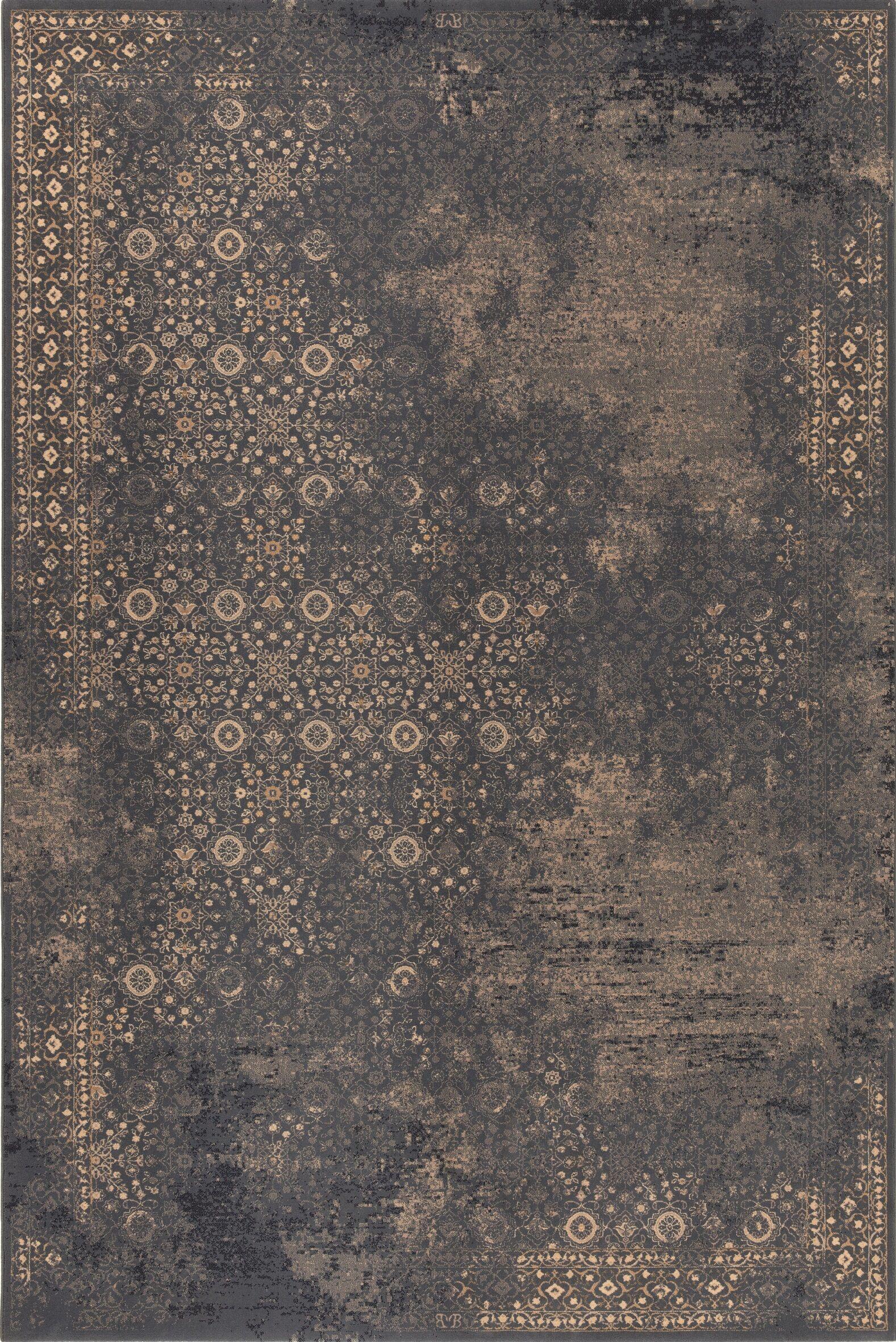 Covington Wool Brown Area Rug Rug Size: Rectangle 5'3